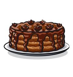 tart vector image