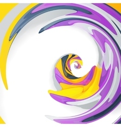 Abstract dynamic vector image