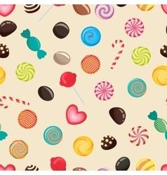 Candies texture lollipop vector