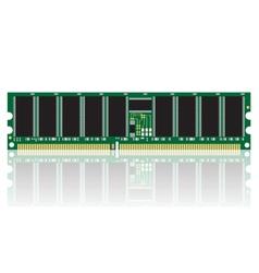 Computer ram vector