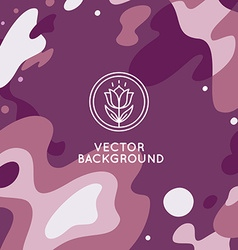 decorative abstract background vector image