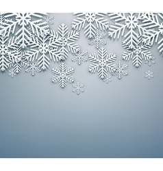 Grey christmas background vector image