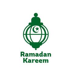 Ramadan kareem logo vector