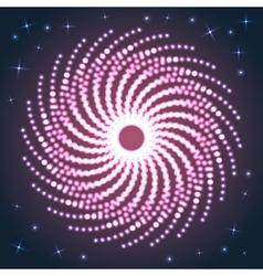 Spiral Firework vector image