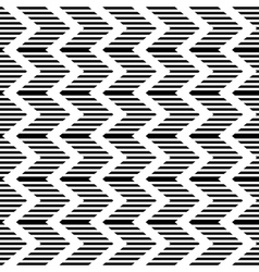 Striped zigzag texture vector