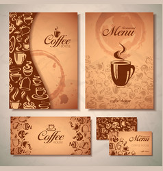 Coffee concept design vector