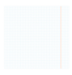Blank checkbook sheet vector