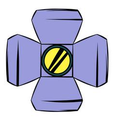 Floodlight icon cartoon vector