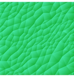 Seamless Triangle Pattern Green vector image vector image