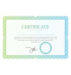 Template that is used in certificate currency and vector