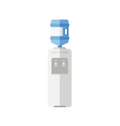 water cooler flat icon vector image