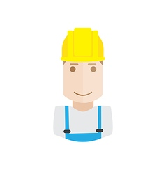 worker avatar vector image
