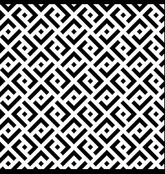 Black and white squares modern seamless pattern vector