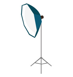 photo studio lighting equipment cartoon vector image