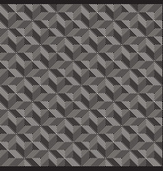 Seamless cross tiling pattern modern vector