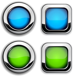Site buttons vector image