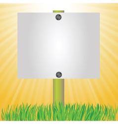 summer banner vector image vector image