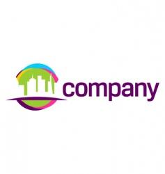 city travel logo vector image