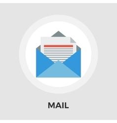 Envelope flat icon vector image