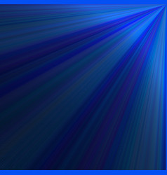 blue ray light background - graphic from rays vector image vector image