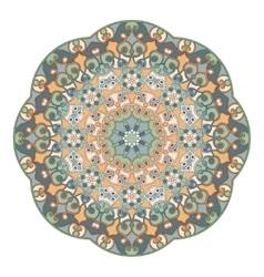 Decorative round ornaments vector