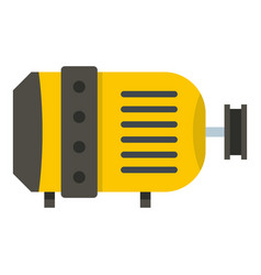 Electric motor icon isolated vector