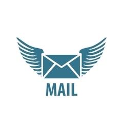 logo mail vector image