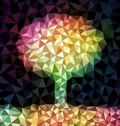 Mosaic Tree vector image vector image
