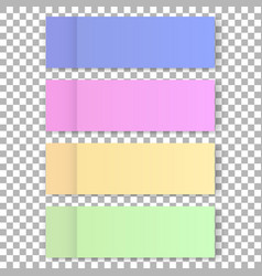 office color post sticks for design vector image