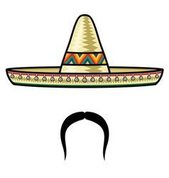 Sombrero3 resize vector image