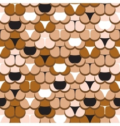 Butt in panties pattern vector