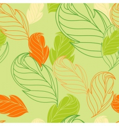 floral seamless wallpaper vector image vector image