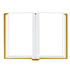 Openning book vector image vector image