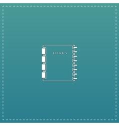 organizer icon vector image vector image
