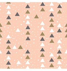 Pink hipster geometrical seamless pattern vector