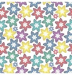 seamless vivid pattern vector image vector image