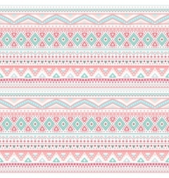 Tribal ethnic seamless stripe pattern vector image vector image