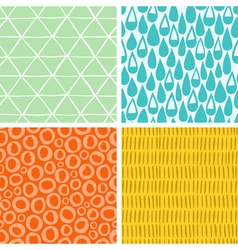 Doodle abstract patterns part 2 vector