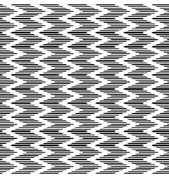 Zigzag striped texture vector