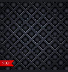 Dark diamond shape texture background vector