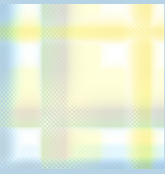 Yellow blue pastel geometric background vector