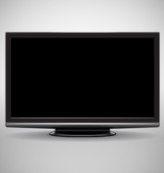Modern full-hd tv vector