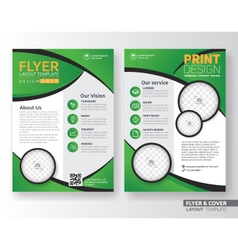 Multipurpose corporate business flyer template vector