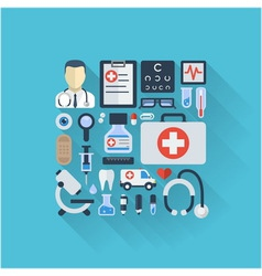 Abstract medicine background vector