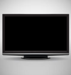 Modern full-HD TV vector image vector image