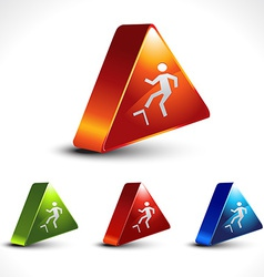 Step up icon vector