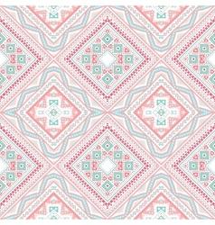 Tribal ethnic corner pattern vector image