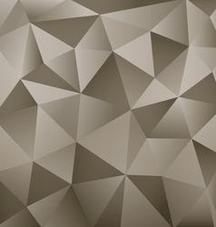 Background abstract polygon vector
