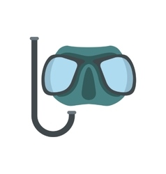 Diving mask icon vector image vector image