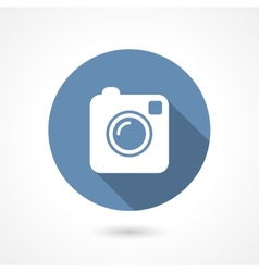 Instagram camera icon vector image